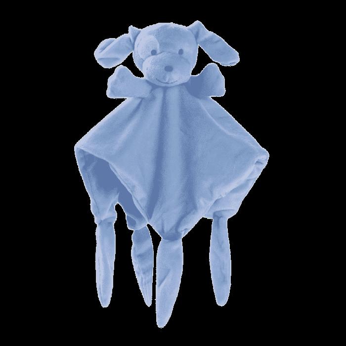 Tuttendoek zacht hondje blauw