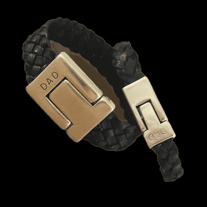 Gevlochten armband