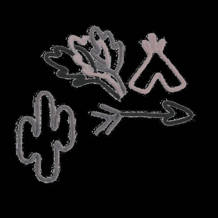 Handgemaakte Punnik sioux