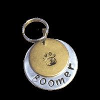 Sleutelhanger dog tag