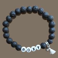 Lava met naam armband