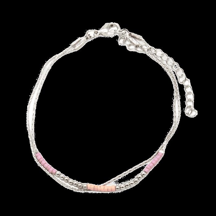 Armband kralen zilver