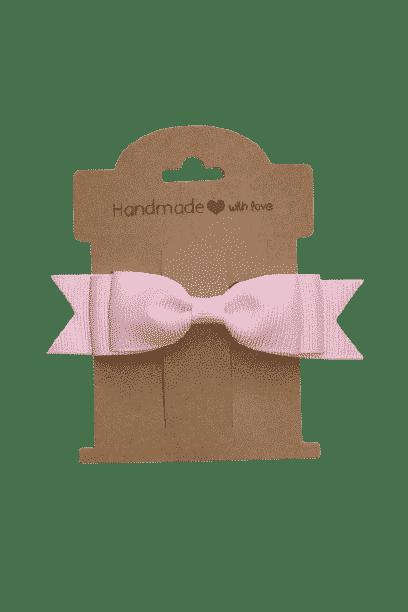 Speldje roze strik