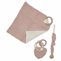 Combinatie troostpakket baby roze