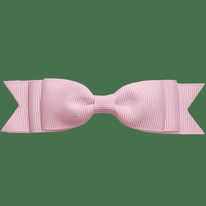 Speldje roze strik handgemaakt 11 cm