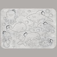 Houten zeedieren inlegpuzzel