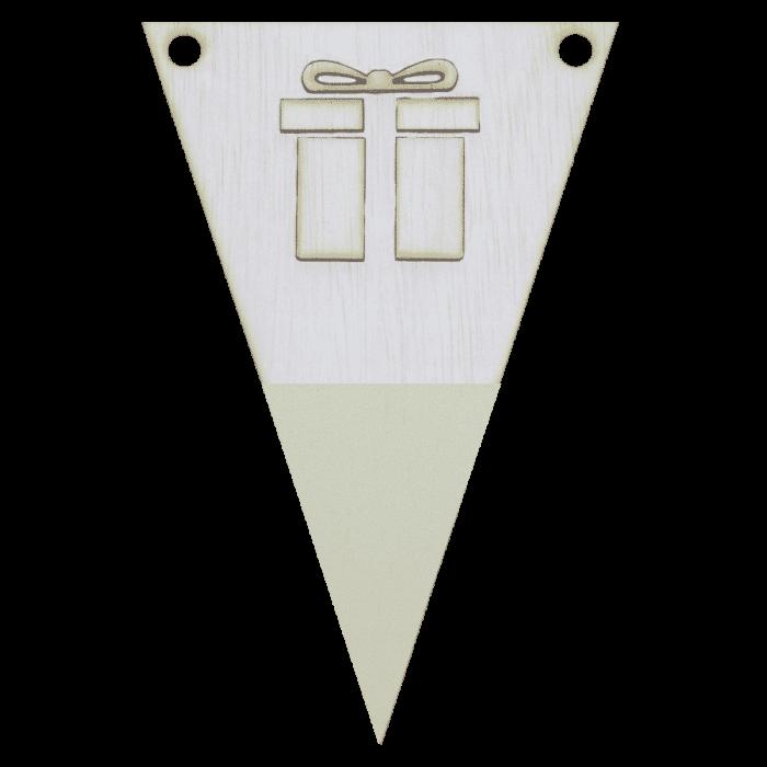 kadovlag met punt in kleur 3d