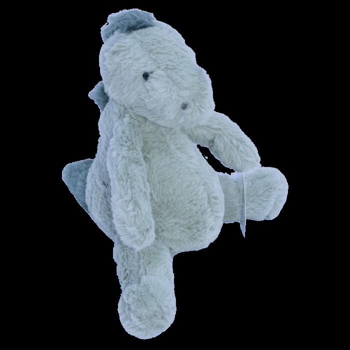 Knuffel baby dino groen 25 cm