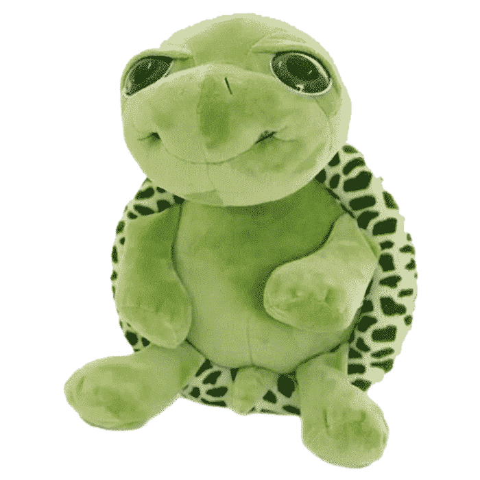 Knuffel baby schildpad 25 cm