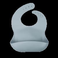 Siliconen baby opvang slab gray blue